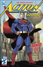 Action Comics_1000_Jim Lee Cover_signed by Brian Michael Bendis