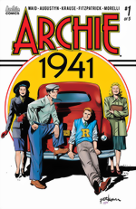Archie 1941_1_Peter Krause Cover signed by Mark Waid