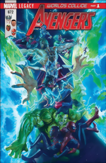 Avengers_672_Alex Ross Cover_signed by Mark Waid