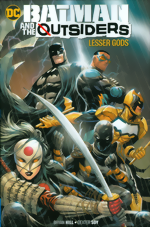 Batman And The Outsiders_Vol. 1_Lesser Gods
