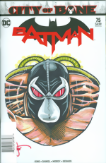 Batman_75_signed and remarked with a Bane head sketch by Ken Haeser