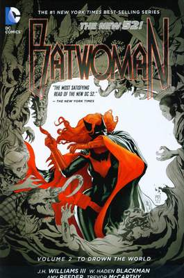 Batwoman Vol. 2: To Drown The World HC (Mängelexemplar)