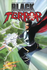 Black Terror_2_Alex Ross Standard Cover_signed by Alex Ross