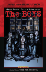 The Boys_Vol. 3_Good For The Soul_Limited, Anniversary Edition HC_signed by Garth Ennis
