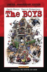 The Boys_Vol. 4_We Gotta Go Now_Limited, Anniversary Edition HC_signed by Garth Ennis