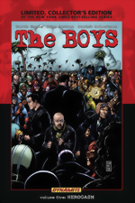The Boys _Vol. 5_Herogasm_Limited, Collectors Edition HC_signed by Garth Ennis