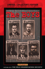 The Boys_Vol. 6_The Self-Preservation Society_Limited, Collectors Edition HC_signed by Garth Ennis