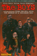 The Boys_Vol. 11_Over The Hill With The Swords Of A Thousand Men_signed by Garth Ennis