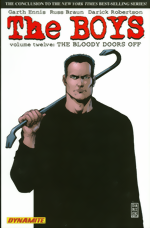 Boys_Vol. 12_The Bloody Doors Off signed by Garth Ennis