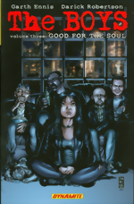 The Boys_Vol. 3_Good For The Soul_signed by Darick Robertson