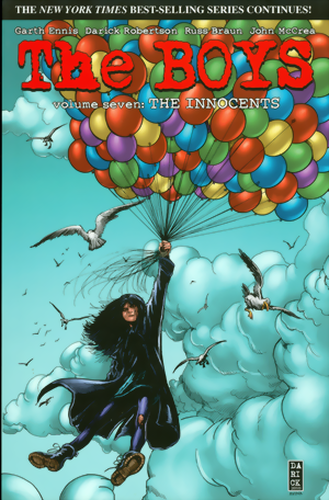 The Boys Vol. 7: The Innocents signed by Garth Ennis