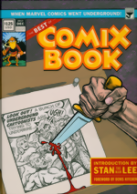 Best of Comix Book_When Marvel Went Underground_HC_Limited Edition dual signed by Denis Kitchen & Stan Lee