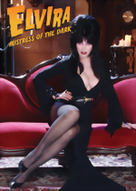 Elvira BAM! Box Limited Edition Promo Card_Signed Edition