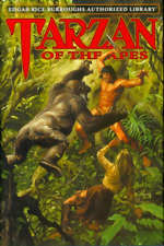 Tarzan Of The Apes_HC_ERB Authorized Library Vol. 1