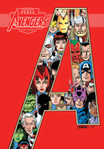 Avengers_Marvel Artist Select Series_HC_signed By George Pérez