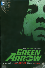 Green Arrow By Jeff Lemire And Andrea Lemire_The Deluxe Edition_HC