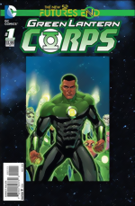 Green Lantern Corps_Futures End_One-Shot_3D Cover