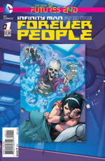 Infinity Man And The Forever People_Futures End_One-Shot_3D Cover