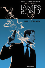 James Bond_Kill Chain HC_signed by Andy Diggle