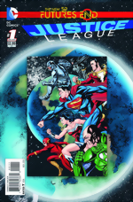 Justice League_Futures End_One-Shot 3D Cover