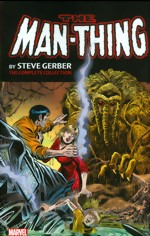 Man-Thing By Stever Gerber_The Complete Collection_Vol. 1
