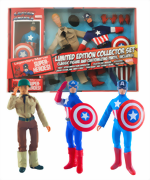 Legendary Marvel Super Heroes_Captain America 8 Inch_Limited Edition Collector Set_Classic Figure And Customizing Parts
