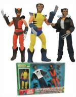 Legendary Marvel Super Heroes_Wolverine_8 Inch Limited Edition Collector Set_Classic Figure And Customizing Parts