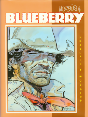 Moebius Book 4: Blueberry HC signed by Jean Giraud