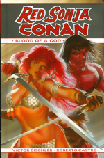 Red Sonja And Conan_Blood Of A God_HC
