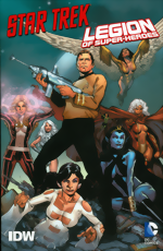 Star Trek And Legion Of Super-Heroes
