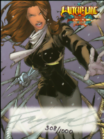 Witchblade_Deciples of the Blade_Ultra-limited_signed binder card_BC-1_signed by Francis Manapul
